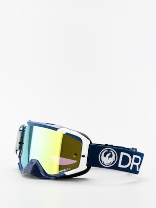 Dragon MXV Cross goggles (max mx navy/llgold ion clear)
