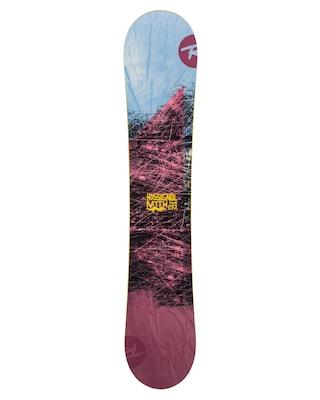 Rossignol Myth Snowboard Wmn (maroon/blue/yellow)