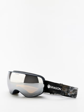 Dragon X2s Goggles (galaxy rock/lumalens silver ion/lumalens flash blue)