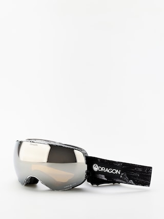 Dragon X2s Goggles (torn birch/lumalens silver ion/lumalens flash blue)