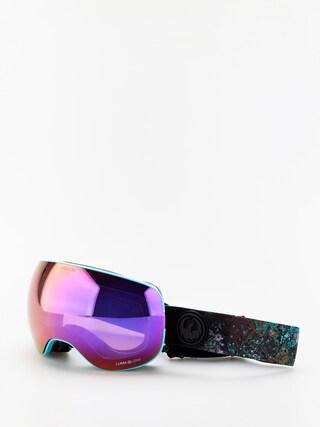 Dragon X2 Goggles (abalone/lumalens purple ion/lumalens amber)