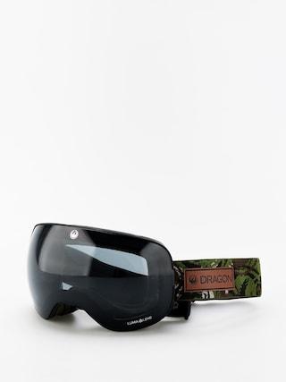 Dragon X2 Goggles (icon camo/lumalens dark smoke/lumalens rose)