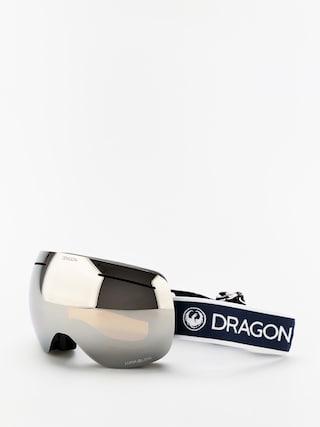 Dragon X1 Goggles (designer/lumalens silver ion/lumalens flash blue)