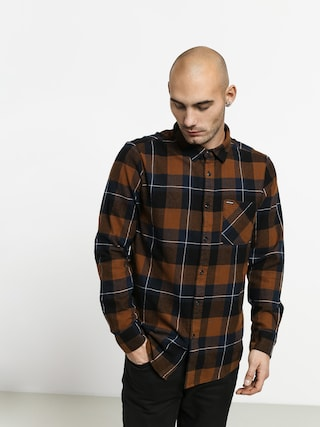 Volcom Caden Plaid Ls Shirt (bison)