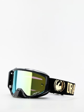 Dragon MXV Cross goggles (max mx gold/llgold ion clear)