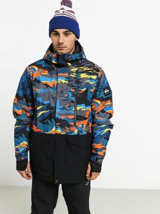 Quiksilver Mission Printed Block Snowboard jacket (sulphur snowscene)