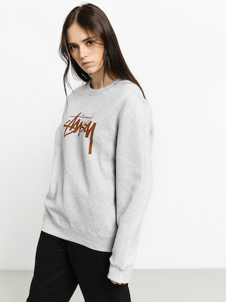 Stussy Stock Sweatshirt Wmn (ash heather)