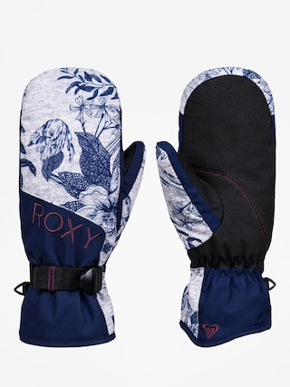 Roxy Jetty Mitt Gloves Wmn (botanical flowers)