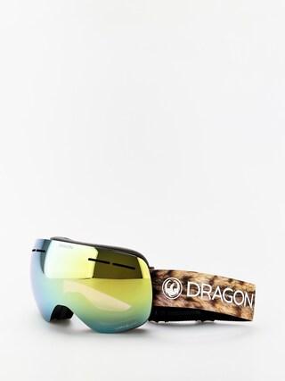 Dragon X1s Goggles (lynxxx/lumalens gold ion/lumalens amber)
