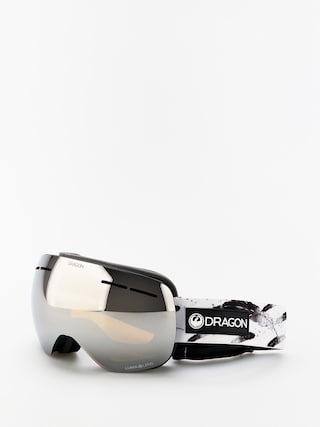 Dragon X1s Goggles (feather/lumalens silver ion/lumalens flash blue)