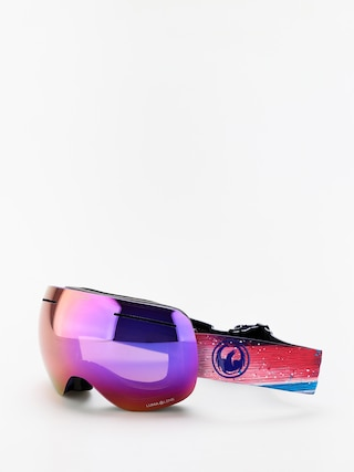 Dragon X1 Goggles (abstract/lumalens purple ion/lumalens amber)