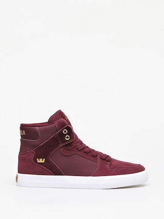 Supra Vaider Shoes (wine white)
