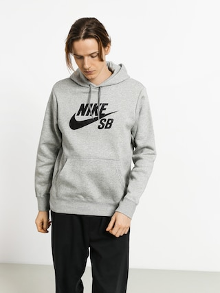 Nike SB Hoodie Sb Icon HD (dk grey heather/black)