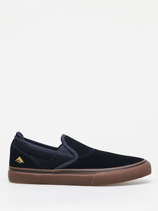 Emerica Wino G6 Slip On Shoes (navy/gum)