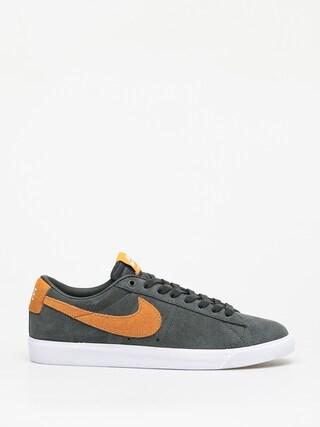 Nike SB Blazer Low Gt Shoes (sequoia/kumquat white gum light brown)