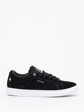 Emerica Americana Shoes (black/white/gold)