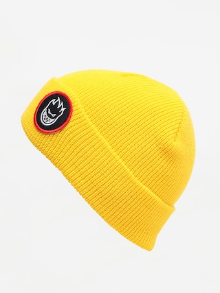 Spitfire Bh Circle Patch Beanie (yellow)