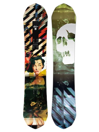 Capita Ultrafear Snowboard (multi 2/black/green/blue)