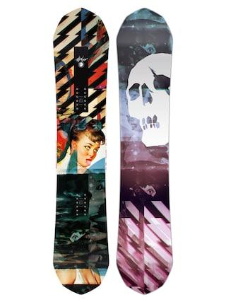 Capita Ultrafear Snowboard (multi 1/black/purple/pink)