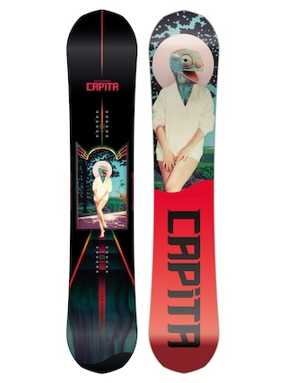 Capita The Outsiders Snowboard (multi 2/red/black)