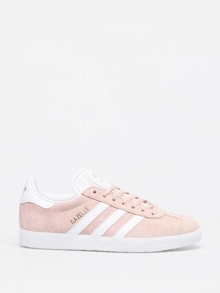 adidas Originals Gazelle Shoes (vapour pink/white/gold met)
