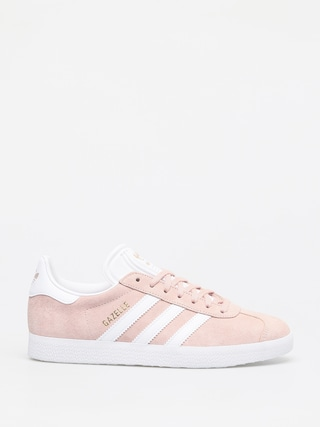adidas Gazelle Shoes (vapour pink/white/gold met)