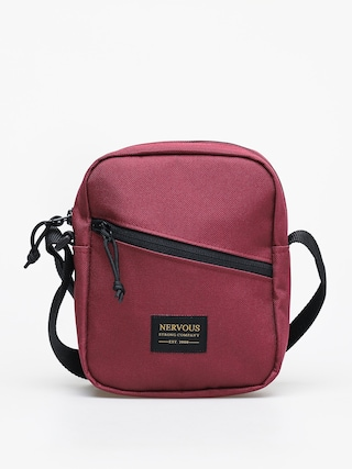 Nervous Goldtag Bag (maroon)