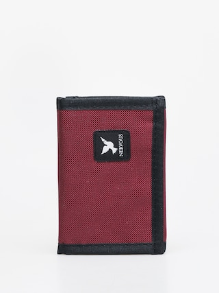 Nervous Icon Wallet (maroon)