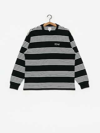 Polar Skate Striped Longsleeve (black)
