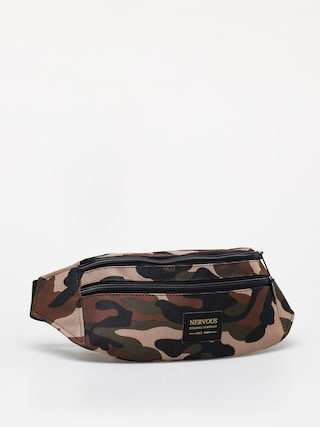 Nervous Goldtag Bum bag (camo)