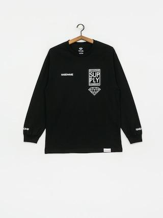Diamond Supply Co. Stacked Type Longsleeve (black)