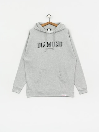Diamond Supply Co. Sf Diamond HD Hoodie (heather grey)
