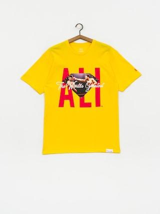Diamond Supply Co. X Muhammad Ali Ali Sign T-shirt (yellow)