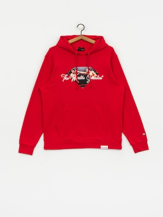 Diamond Supply Co. X Muhammad Ali Ali Sign HD Hoodie (red)