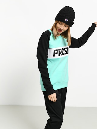 Prosto Post Sweatshirt (mint/black)