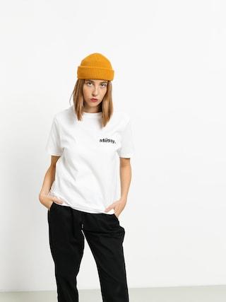 Stussy Italic T-shirt Wmn (white)