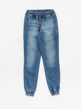Diamante Wear Rm Jeans Pants (light wash jeans)