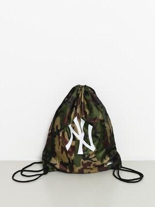 New Era Mlb Gym Sack Nny Backpack (woodland camo/optic white)