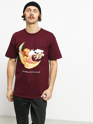Diamond Supply Co. Other Girls T-shirt (burgundy)