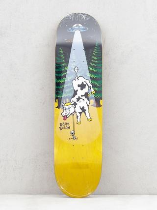 Polar Skate Dane Brady Poker Night Deck (yellow)