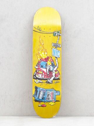 Polar Skate Aaron Herrington Crash Deck (yellow)