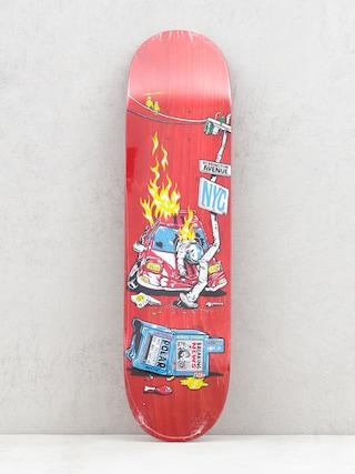 Polar Skate Aaron Herrington Crash Deck (red)