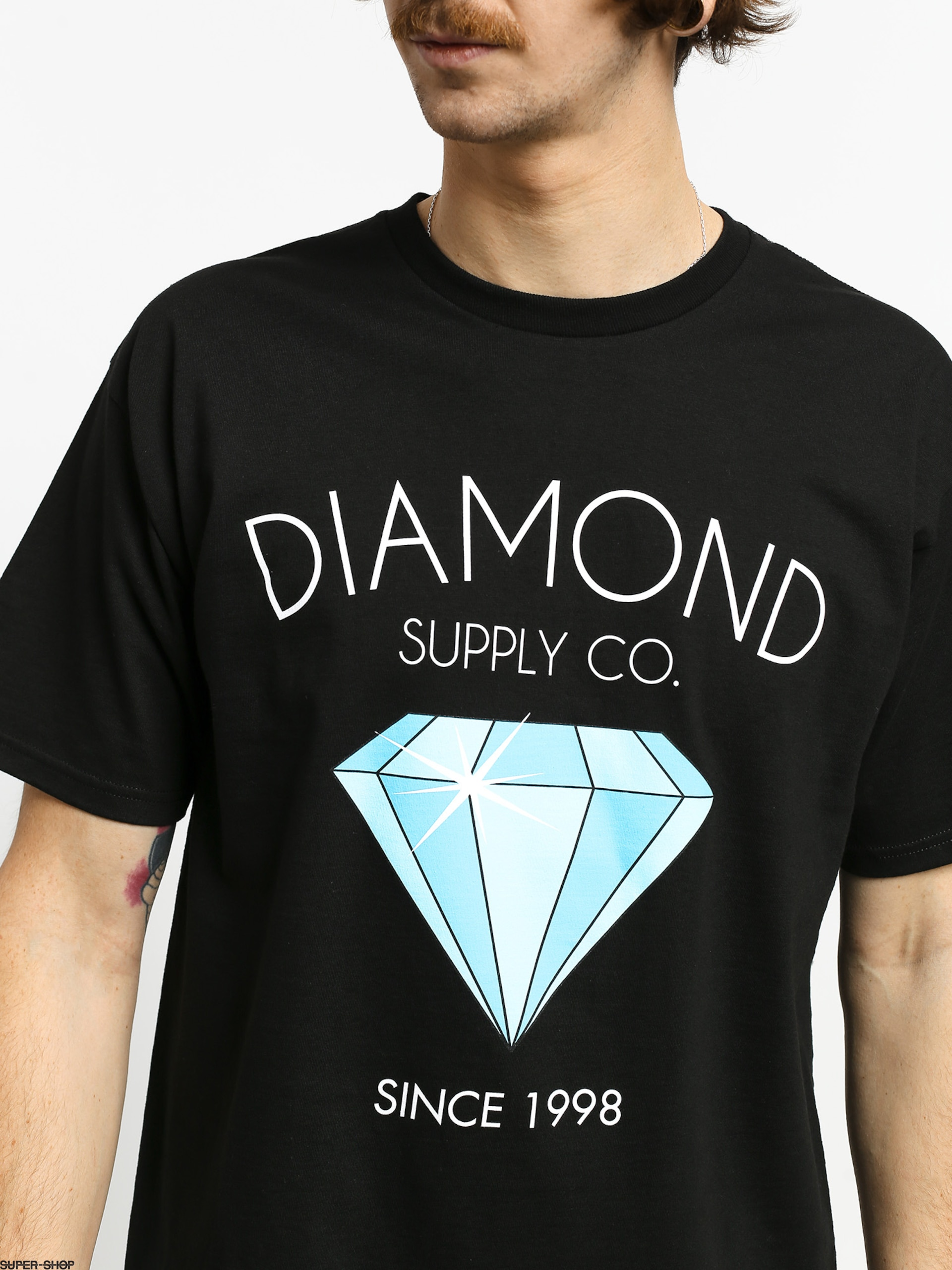 BLACK BOXED CUAND T SHIRT MUSCLE TANK TOP NEW RDAM-65 DIAMOND SUPPLY CO