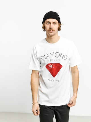 Diamond Supply Co. Classic Diamond T-shirt (white)