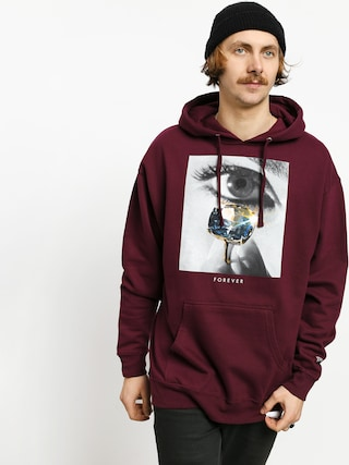 Diamond Supply Co. Eye Diamond HD Hoodie (burgundy)