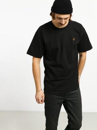 Krooked Diamond K Emb T-shirt (black)