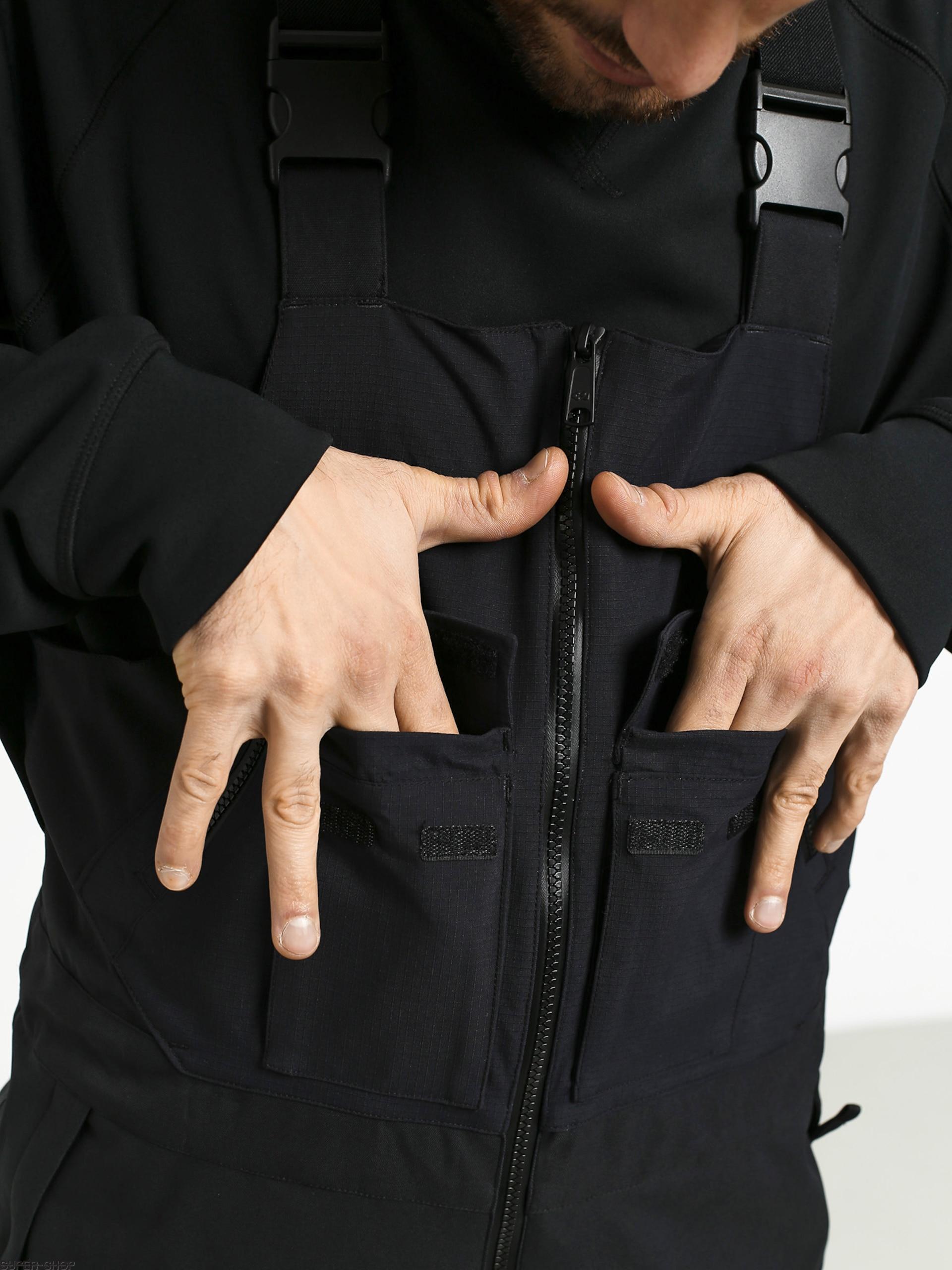 Black ThirtyTwo Thirty Two Mullair Bib Pant