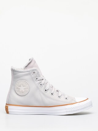 Converse Chuck Taylor All Star Hi Faux Leather Chucks Wmn (pale putty/white/honey)