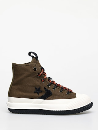 Converse Bosey Mc Water Repellent Chucks Wmn (surplus olive/campfire orange)