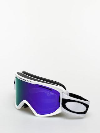 Oakley O Frame 2 0 Pro Xmu00a0 Goggles (matte white/violet iridium & persimmon)